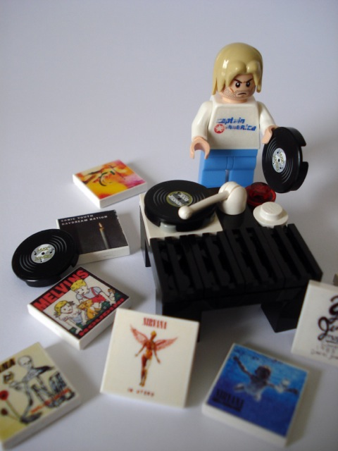 DJ Lego Kurt: unlikely to play any Wham.