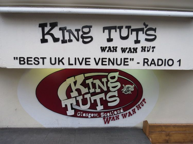King Tut's is the final destination for our Glasgow's Music Mile tour.